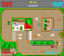 Wheels Runner (ARC)  © International Games 1988   5/5
