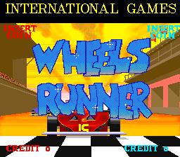 Wheels Runner (ARC)  © International Games 1988   1/5