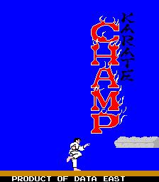 Karate Champ (ARC)  © Data East 1984   1/3