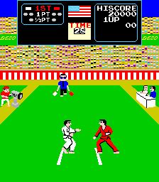 Karate Champ (ARC)  © Data East 1984   2/3