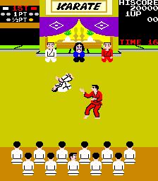 Karate Champ (ARC)  © Data East 1984   3/3