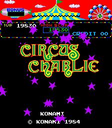 Circus Charlie (ARC)  © Konami 1984   1/6
