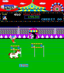 Circus Charlie (ARC)  © Konami 1984   5/6