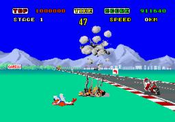 Hang-On (ARC)  © Sega 1985   3/3
