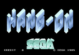 Hang-On (ARC)  © Sega 1985   1/3
