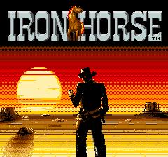 Iron Horse (ARC)  © Konami 1986   1/3