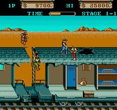 Iron Horse (ARC)  © Konami 1986   3/3