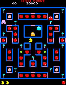 Super Pac-Man (ARC)  © Namco 1982   2/5