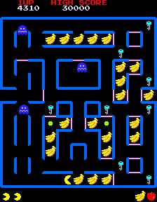 Super Pac-Man (ARC)  © Namco 1982   3/5