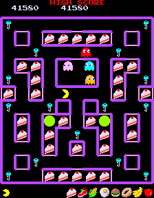 Super Pac-Man (ARC)  © Namco 1982   4/5