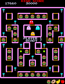 Super Pac-Man (ARC)  © Namco 1982   5/5