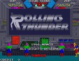 Rolling Thunder (ARC)  © Namco 1986   1/4
