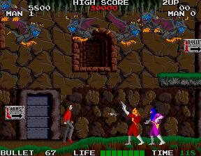 Rolling Thunder (ARC)  © Namco 1986   4/4