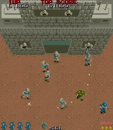 Commando (ARC)  © Capcom 1985   2/4