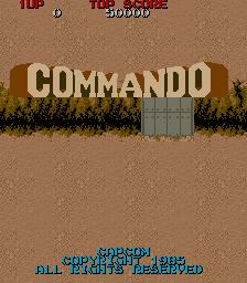 Commando (ARC)  © Capcom 1985   1/4