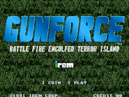GunForce (ARC)  © Irem 1991   1/5