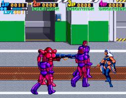 X-Men (ARC)  © Konami 1992   2/12