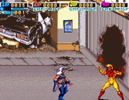 X-Men (ARC)  © Konami 1992   3/12
