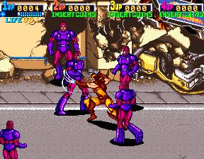 X-Men (ARC)  © Konami 1992   5/12