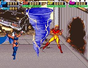 X-Men (ARC)  © Konami 1992   7/12