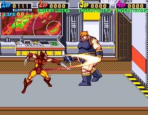 X-Men (ARC)  © Konami 1992   8/12