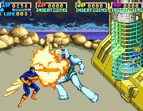 X-Men (ARC)  © Konami 1992   9/12