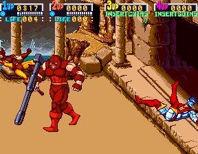 X-Men (ARC)  © Konami 1992   10/12