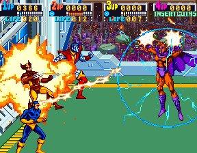 X-Men (ARC)  © Konami 1992   11/12