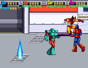 X-Men (ARC)  © Konami 1992   12/12
