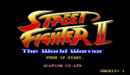 Street Fighter II (ARC)  © Capcom 1991   1/5