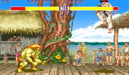 Street Fighter II (ARC)  © Capcom 1991   2/5