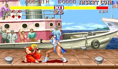 Street Fighter II (ARC)  © Capcom 1991   4/5