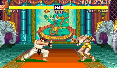 Street Fighter II (ARC)  © Capcom 1991   5/5