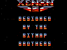Xenon 2: Megablast (SMS)  © Virgin 1991   1/6