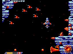 Xenon 2: Megablast (SMS)  © Virgin 1991   3/6