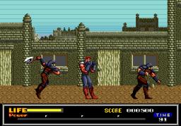 Last Battle (SMD)  © Sega 1989   3/4