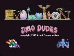 Dino Dudes (JAG)  © Atari Corp. 1994   1/5