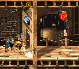 Donkey Kong Country 3: Dixie Kong's Double Trouble (SNES)   © Nintendo 1996    2/3