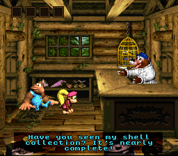 Donkey Kong Country 3: Dixie Kong's Double Trouble (SNES)   © Nintendo 1996    3/3
