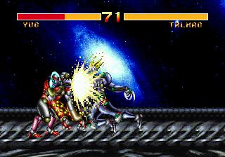 Cosmic Carnage (32X)  © Sega 1994   4/6