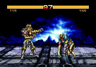 Cosmic Carnage (32X)  © Sega 1994   5/6