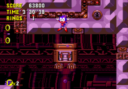 Sonic CD (MCD)  © Sega 1993   1/3