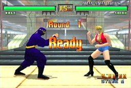Virtua Fighter 3tb (DC)  © Sega 1998   3/4