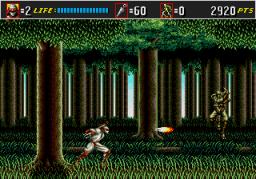 Shinobi III: Return Of The Ninja Master (SMD)  © Sega 1993   2/3
