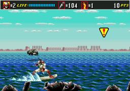 Shinobi III: Return Of The Ninja Master (SMD)  © Sega 1993   3/3