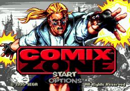 Comix Zone (SMD)  © Sega 1995   1/6