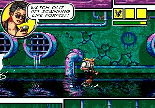 Comix Zone (SMD)  © Sega 1995   4/6