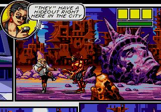 Comix Zone (SMD)  © Sega 1995   5/6