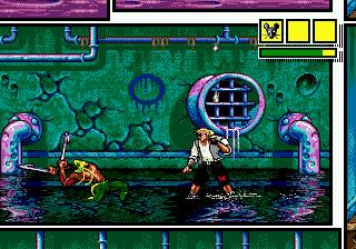 Comix Zone (SMD)  © Sega 1995   6/6
