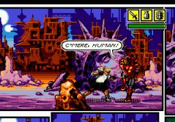 Comix Zone (SMD)  © Sega 1995   3/6